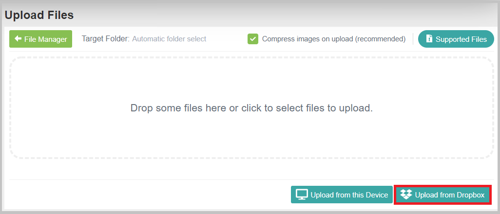 How to transfer my files from Dropbox to hPage? – hPage Help Center